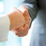 Partnership-stretta-di-mano