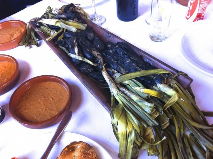 Piatti tipici di Barcellona - calçot
