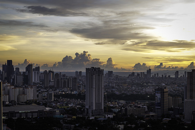 Manila tramonto