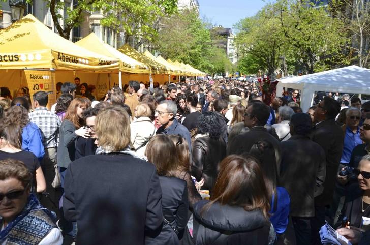 Festa di Sant Jordi a Barcellona