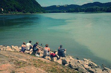 Germania, una scrittrice a Passau, la città dei tre fiumi