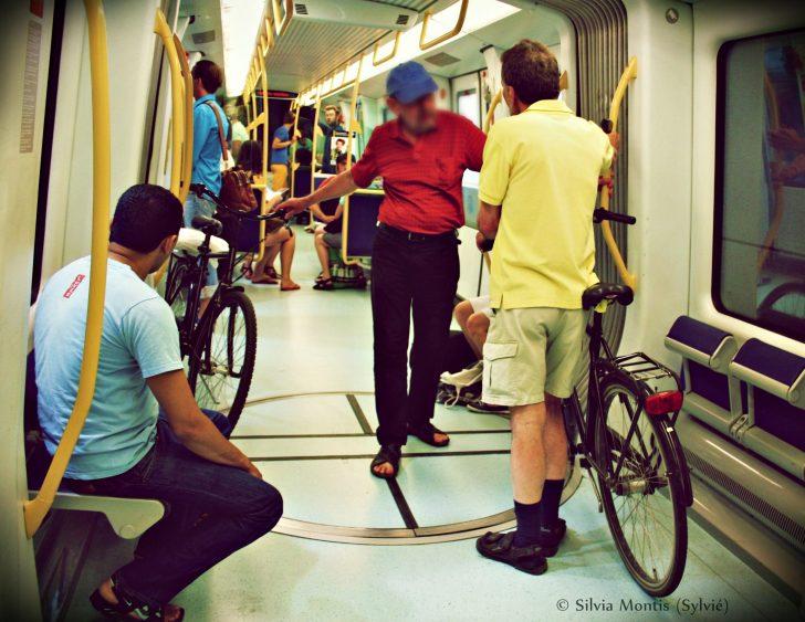 Bicicletta in Danimarca metro