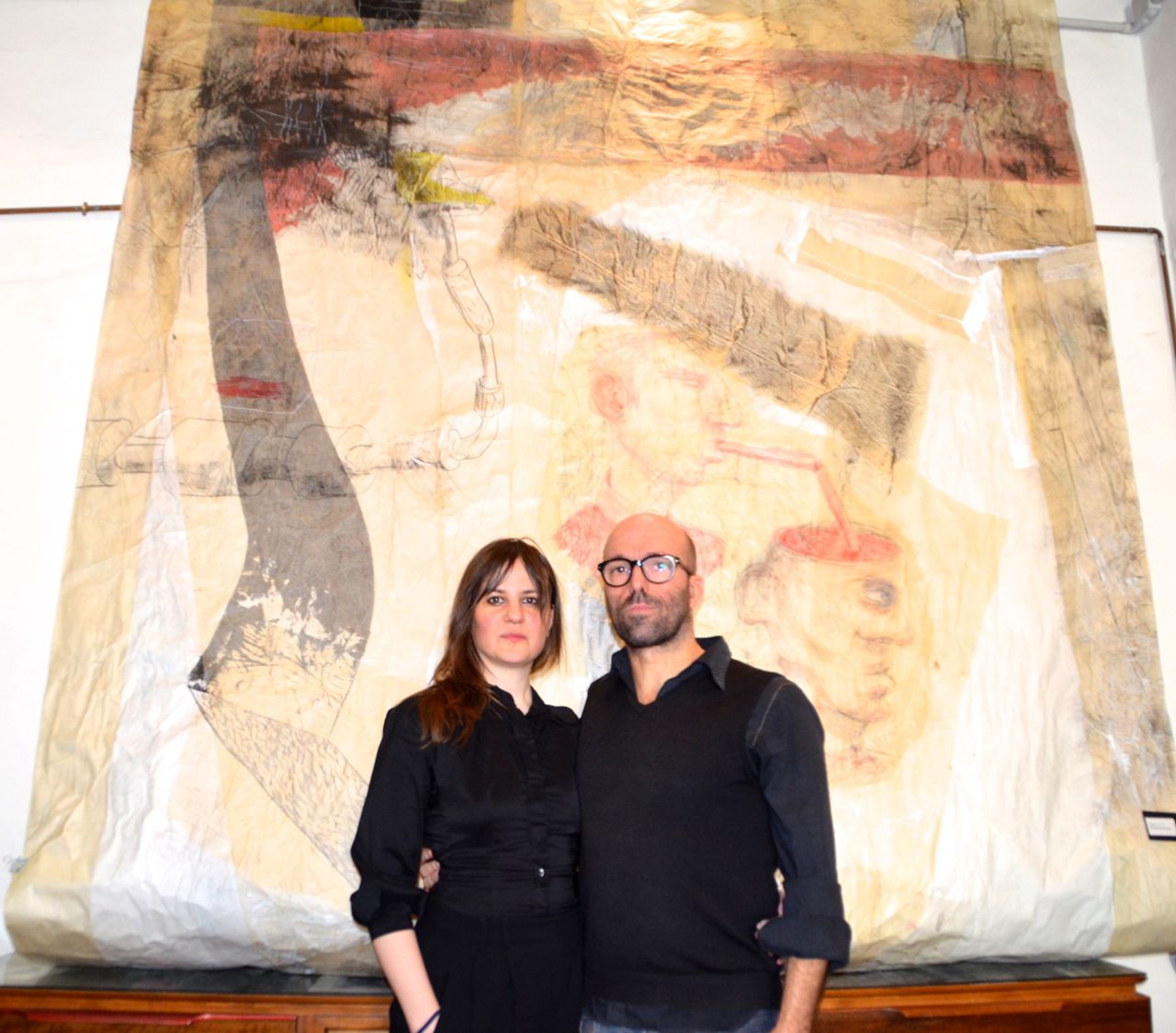 Artista italiano a Barcellona