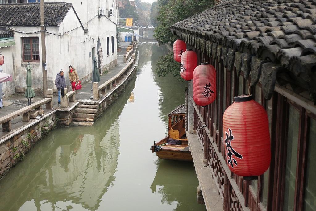 Una vista dei canali di Suzhou. Foto: macchi