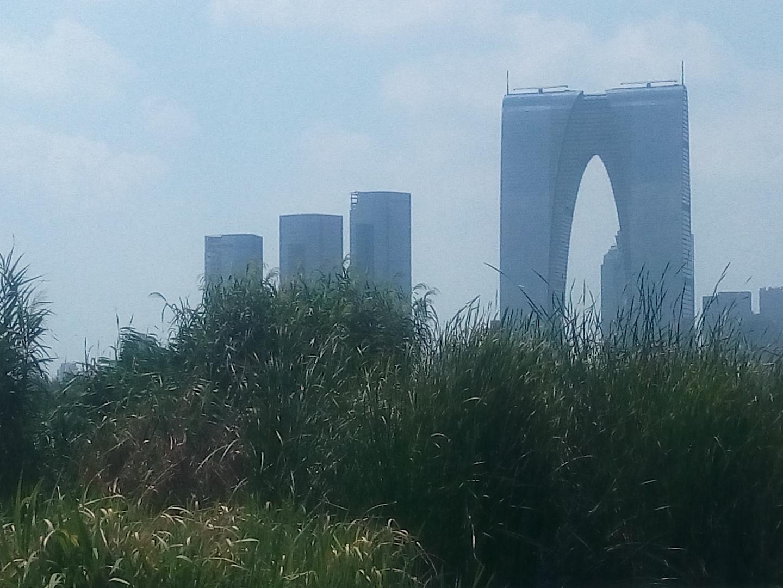 Edifici moderni di Sozhou