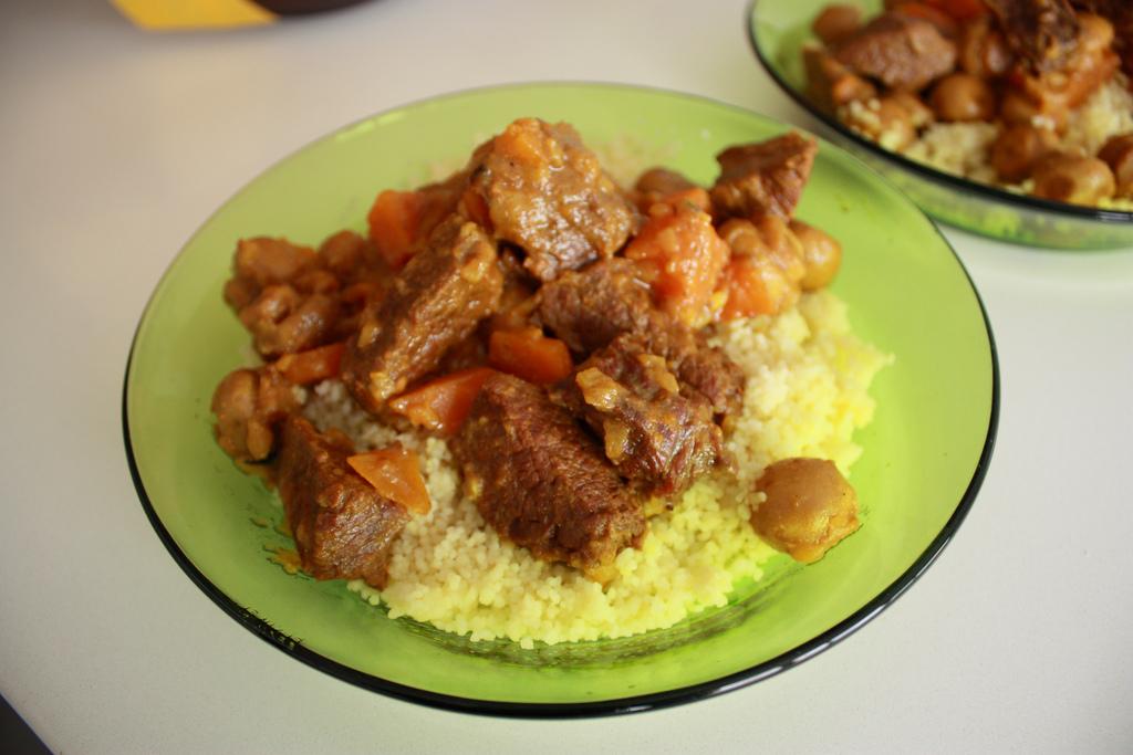 Un semplice piatto di cous cous