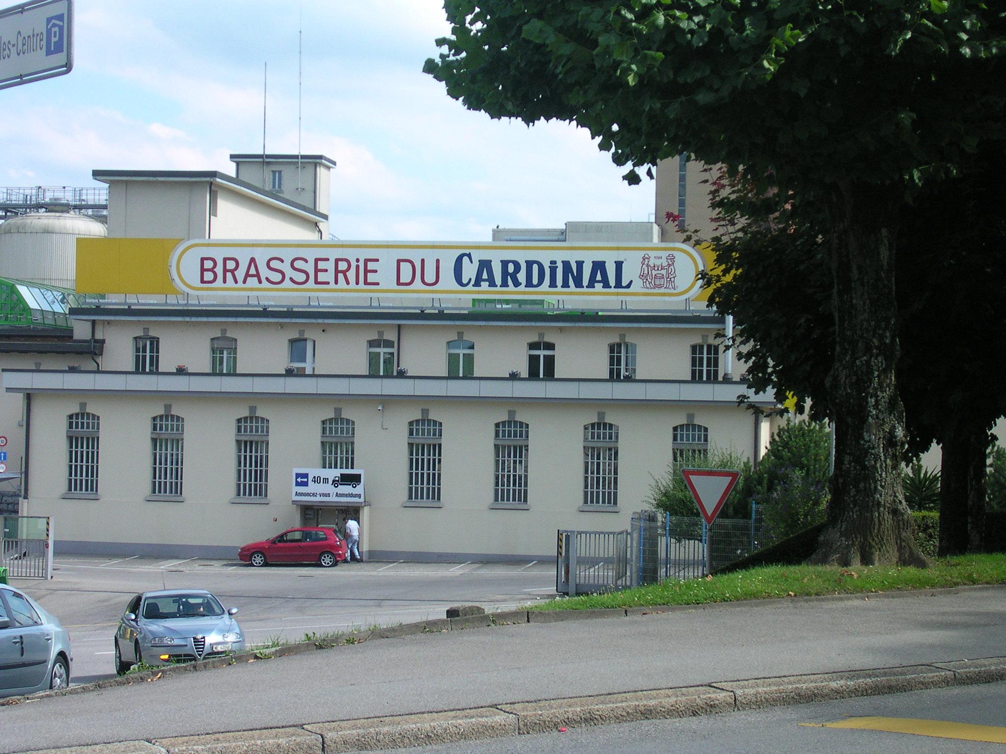 L'antica Brasserie di cardinal, storica fabbrica di birra chiusa nel 2012