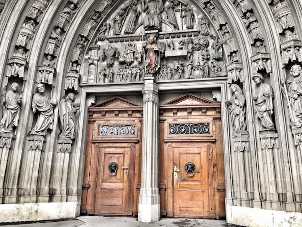 San Nicola, la cattedrale di Friburgo