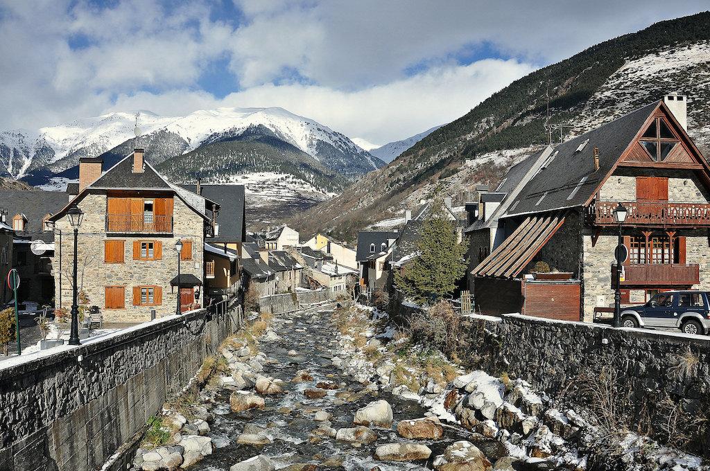 Una vista di Vielha, capoluogo della Val d'Aran. Foto: Alberto Gonzalez Rovira