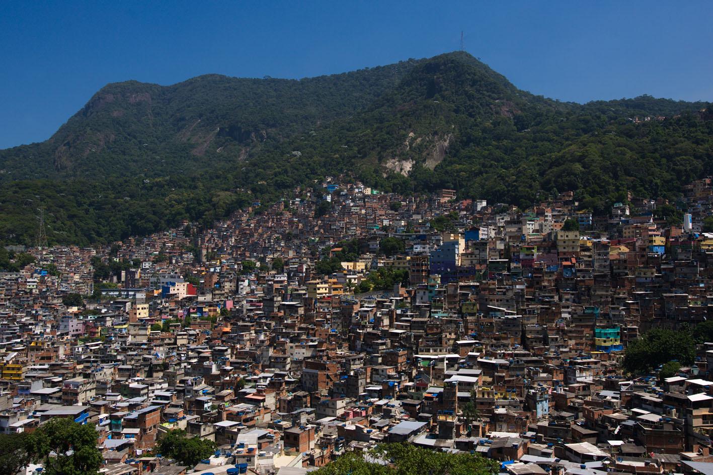 vivere nella favela