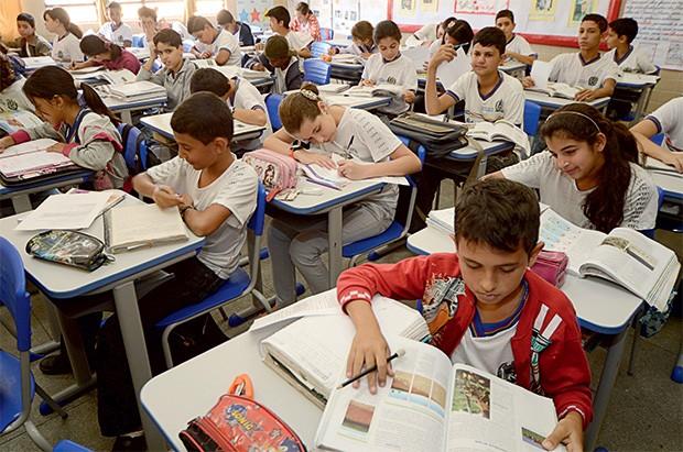 scuola in Brasile