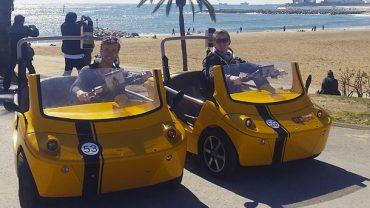 Tour Barcellona Beach & Shopping in GoCar