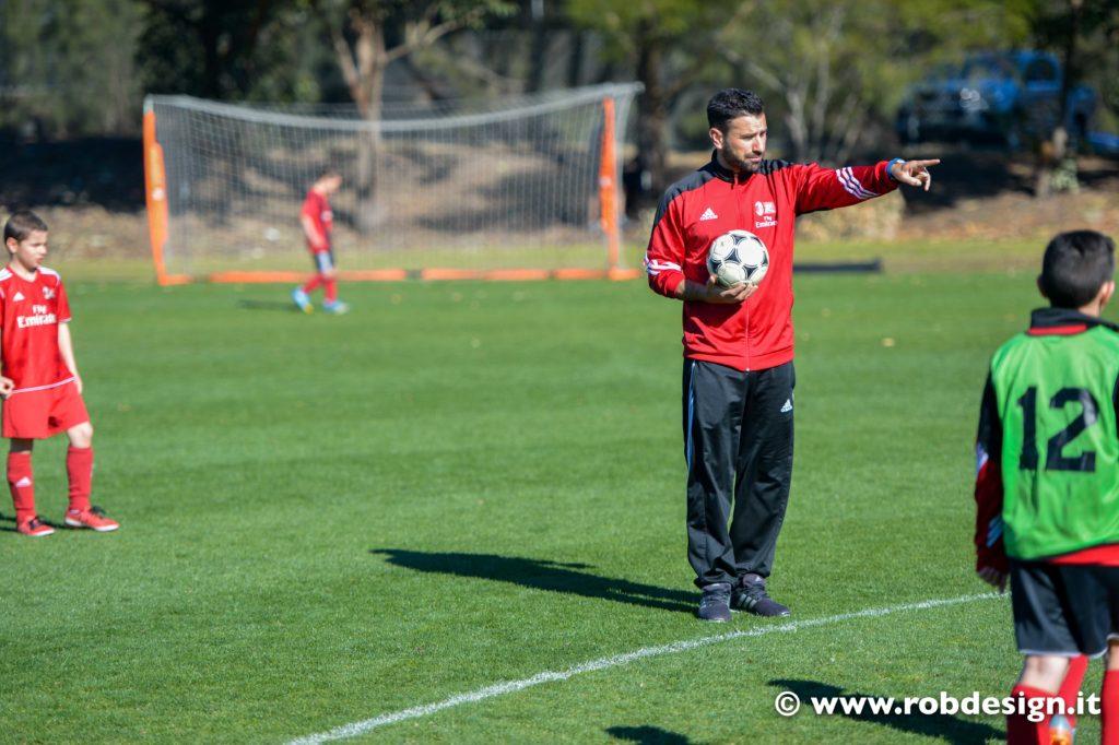 allenatore di calcio a Sydney