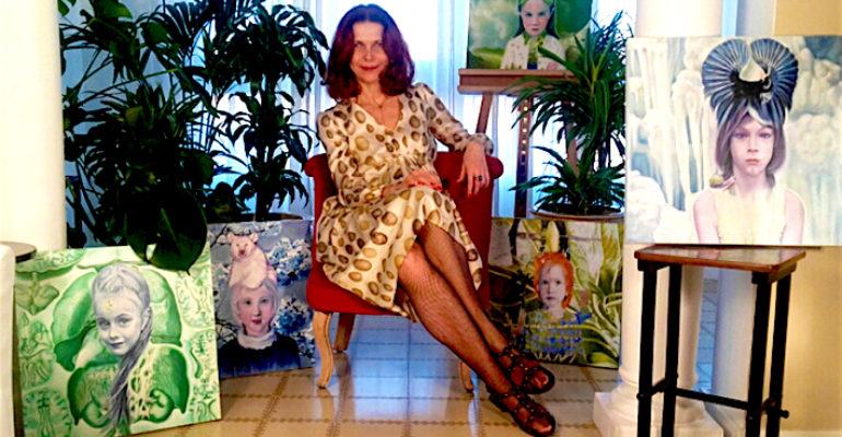 Da hostess a pittrice. La vita effervescente di Beatrice Tosi, artista italiana a Barcellona
