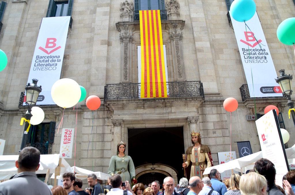 Giornata Mondiale del Libro a Barcellona