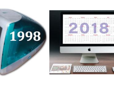 Vent'anni di iMac. Il 6 maggio 1998 Steve Jobs lanciava il celebre computer