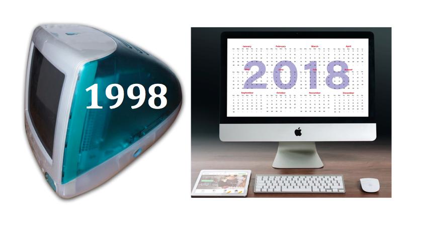 vent'anni iMac