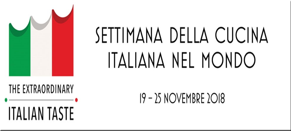 Settimana della cucina italiana nel mondo 2018