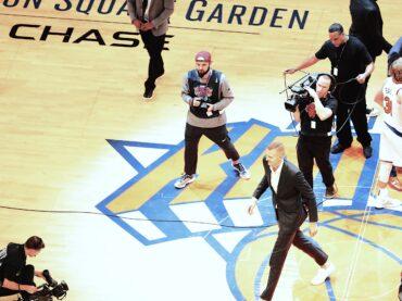 Matteo Marchi, dalla cronaca locale di Imola a fotografo ufficiale dei New York Knicks