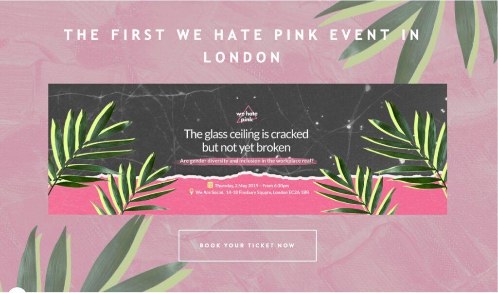 we hate pink