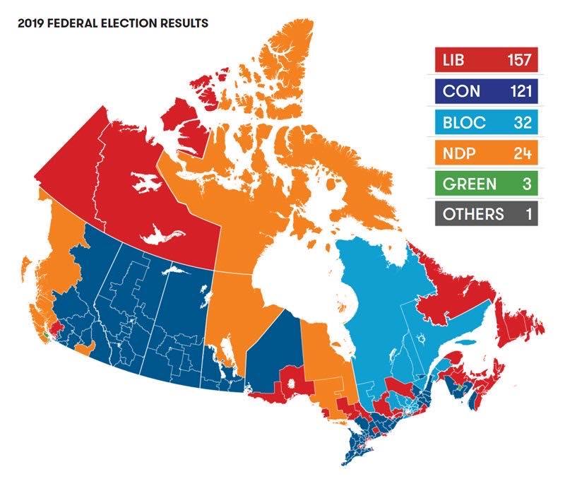 in canada dopo le elezioni