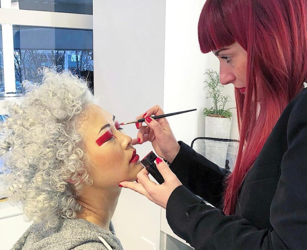 make-up artist italiana